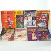 National Doll World Magazine 8 Issues 1979