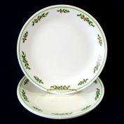 Corelle Christmas Holly Days Dinner Plates Set of Four