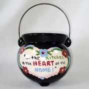 California Cleminsons Kitchen Kettle Pottery Wall Pocket