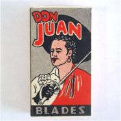 Box Don Juan 1940s Razor Blades Mint Unused