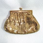 Duramesh 1950s Gold Mesh Evening Bag