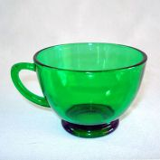 Anchor Hocking Forest Green Punch Cups