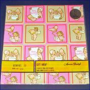 Kewpies 1973 Birthday Gift Wrap Sealed Package