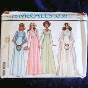 McCall's 1976 Bride Bridesmaid Wedding Dress Pattern Size 14 Uncut
