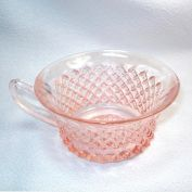 2 Hocking Miss America Pink Depression Glass Cups