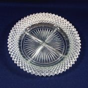 Hocking Miss America Divided 4 Part Relish Dish