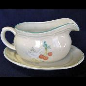 Marmalade Gravy Boat and Underplate International China