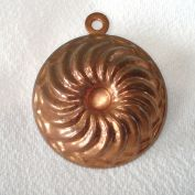Miniature Copper Swirl Turks Head Candy Mold