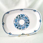 Noritake Blue Moon 13 Inch Serving Platter