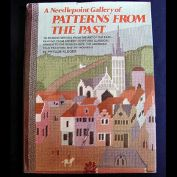 A Needlepoint Gallery of Patterns From the Past, Phyllis Kluger Hardcover Book