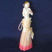 Deco Flapper Half Doll Clothing Brush