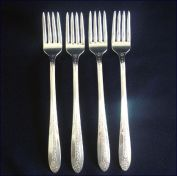 Princess Royal National Silver Silverplate Grille Fork