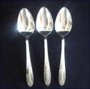 Princess Royal National Silver Silverplate Serving Tablespoon