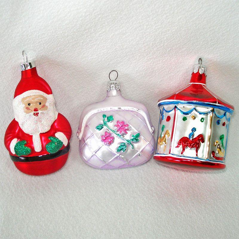Copperton Lane: Carousel, Purse, Santa Figural Glass ...