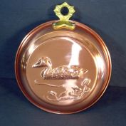 Small Old Dutch Copper Floating Duck Mold