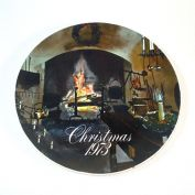 Smuckers 1973 Christmas Collector Plate, 2nd in Series