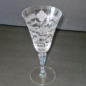 Tiffin Capri Passion Flower Water Goblet